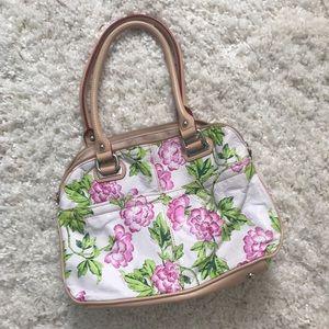 💖Final price💖 Tignanello Floral Leather Purse